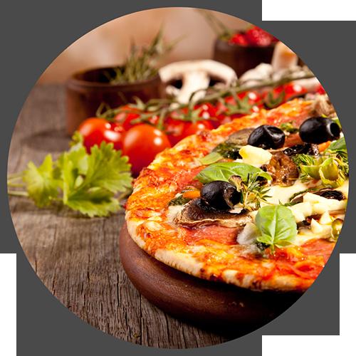 Clibano leckere Pizza
