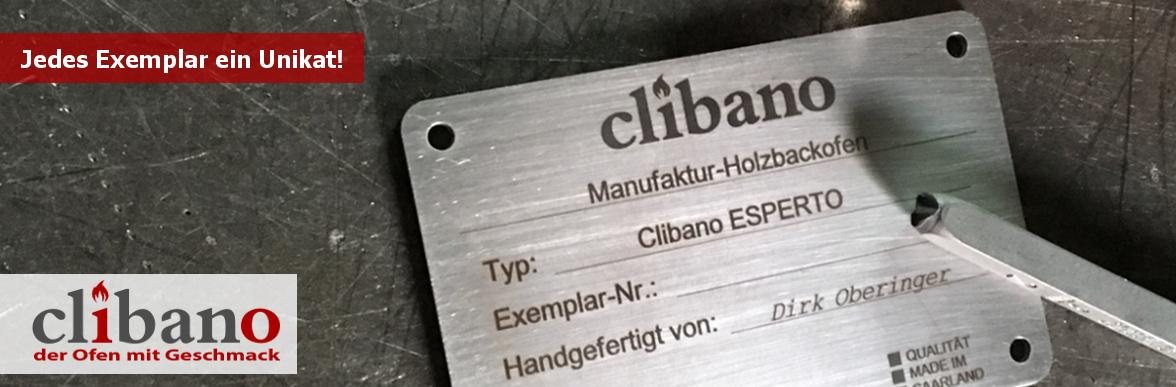 Clibano Holzbackofen Manufaktur - jedes Exemplar ein Unikat