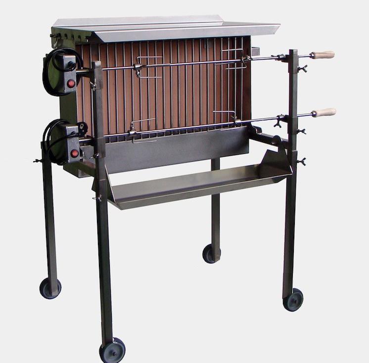 clibano spiedo doppio spie bratengrill. Black Bedroom Furniture Sets. Home Design Ideas